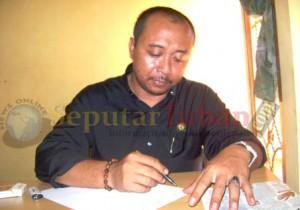 Ketua Panwaslu Kabupaten Tuban. Sullamul Hadi