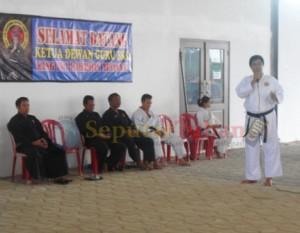 Mas Kris saat sambutan sebagai Ketua BKC Tuban
