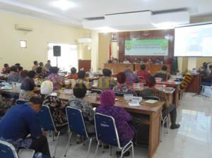Diskusi kinerja dan Hukum di Gedung Korpri Tuban