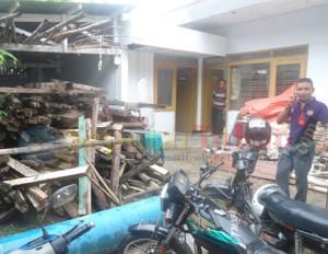 Kondisi salah satu sudut Kantor Panwaskab Tuban