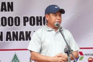 Wakil Bupati Tuban saat sambutan dalam acara HPN 2013