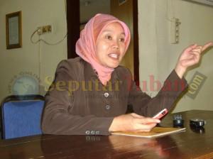Divisi Pendaftaran Pemilih KPU Kabupaten Tuban, Yayuk Dwi Agus S