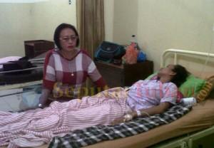 Pasien yang ditolak RSUD saat menjalani perawatan medis di RS Medika Mulia