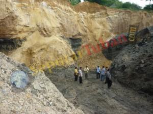 Lokasi batubara ilegal