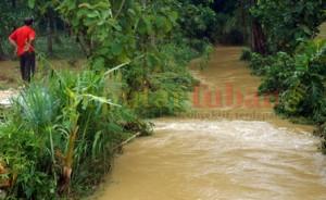 SUNGAI : Inilah sungai yang menewaskan korban