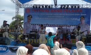 Vestifal Band pelajar