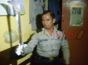 BENDO : Inilah senjata tajam yang dipakai pelaku untuk membunuh