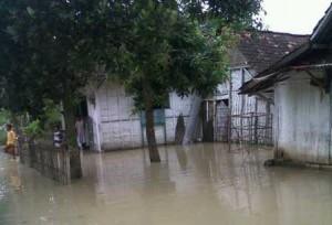 tergenang banjir