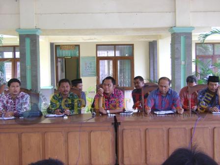 hearing kasus tanah gaji