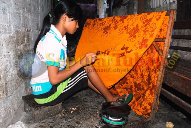 Siswa SMP Batik2