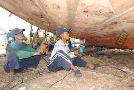 Pembuatan Kapal Tuban