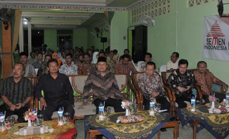 MERIAH : Undangan dari SKPD Pemkab Tuban, Lembaga vertikal, perusahaan hadir dalam acara pembukaan
