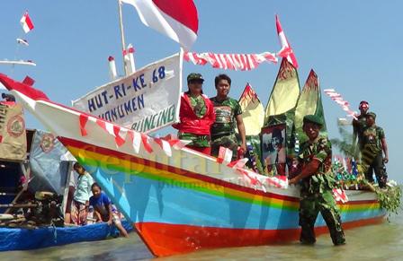 Perahu pejuang kemerdekaan