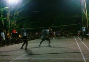 Badminton Cup HUT TNI ke 68