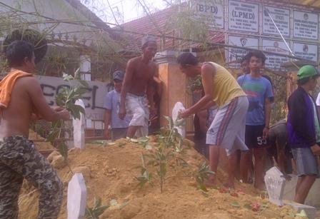 Blokir Balai Desa Simo Kecamatan Soko