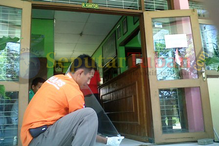 Kantor SMAN 3 Tuban dibobol maling