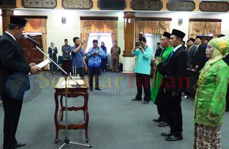 pelantikan DPRD Tuban