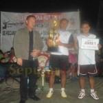 Juara 1 Badminton CUP II HUT TNI