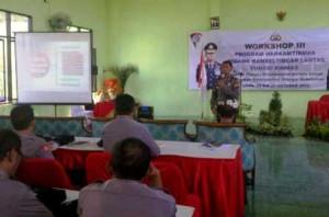 Workshop Lantas Tuban