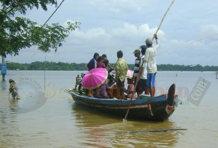 Banjir bengawan solo Tuban