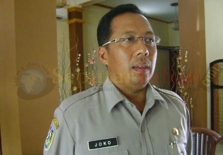 Kepala BPBD Pemkab Tuban, Joko Ludiono