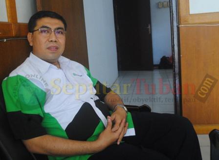 Pimpinan Cabang Kantor Pegadaian Tuban, Alfin Noor