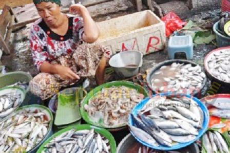 Penjual Ikan kerek
