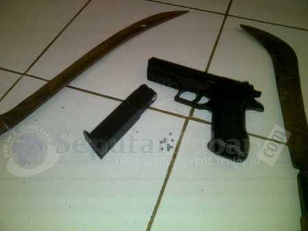 Inilah barang bukti yang berhasil disita Polisi dari pelapor