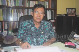 Kepala Dinas Perekonomian dan Pariwisata (Disperpar) Pemerintah Kabupaten (Pemkab) Tuban, Farid Achmadi