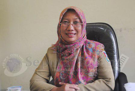 Kepala Bidang Catatan Sipil Kependudukan, Dispendukcapil Pemkab Tuban, Anita Cetrawati