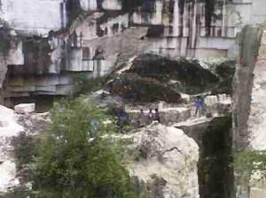 Lokasi korban tewas tertimpa batu kumbung