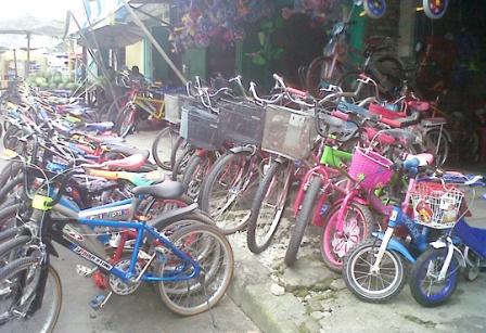 LESU : Penjualan sepeda angin bekas menurun