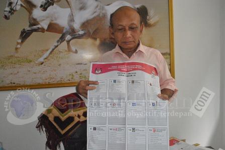 Surat Suara KPUD Tuban rusak