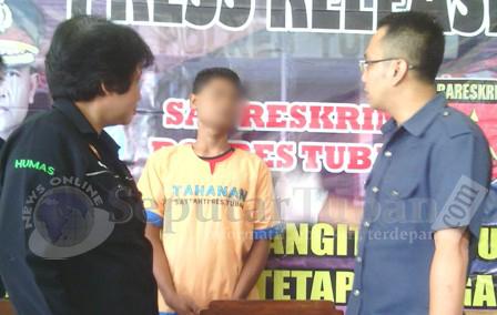 MASIH DPO : Seorang pelaku perampokan ditangkap Polisi, 7 lainya masih buron.