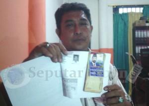 HASIL PEMERIKSAAN : Barang bukti dugaan politik uang Armaya Mangkunegara
