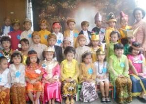 MAKIN PEDE: Para siswa yang tahun ini lebih bersemangat menyambut peringatan Hari Kartini.
