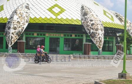 BELUM FUNGSI : Rest area hingga saat ini masih belum jelas kapan dibukanya