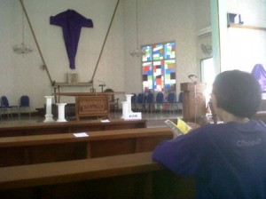 HIKMAT : Aktivitas disalah satu Gereja di Kabupaten Tuban