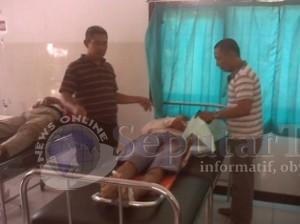 GAGAL DITOLONG: Korban tewas saat berada di ruang UGD RSUD dr Koesma Tuban.