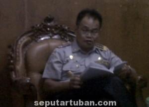 Kepala Dishub Pemkab Tuban, A. Paraith