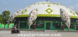 PUSAT KULINER: Rest area ini akan menjadi salah satu pusat jajanan oleh-oleh khas Tuban. Selain itu juga sebagai tempat perdagangan yang diharapkan bisa meningkatkan ekonomi masyarakat di sektor kuliner dan kerajinan.