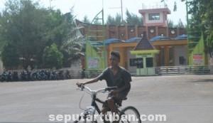 JAGA IKON: Upaya Pemkab Tuban menghidupkan kawasan wisata pantai Boom terus dimatangkan.