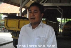 Kepala Bina Marga Wilayah Tuban, Adi Wibowo : Jalan pantura mudah rusak karena kondisi tanahnya labil