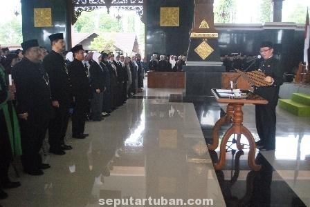 Pelantikan pejabat Tuban