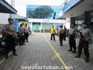 MAKSIMALKAN KINERJA : Polres Tuban memaksimalkan pelaksanaan pengamanan lebaran disemua sektor