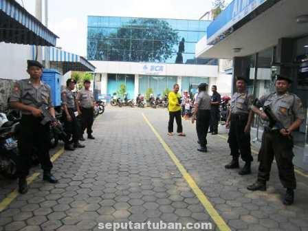 Polres Tuban amankan Bank