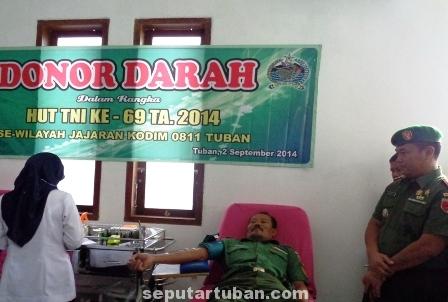 Donor darah kodim Tuban3