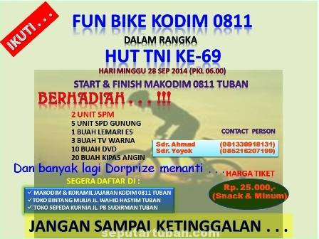 Fun Bike Kodim Tuban promo