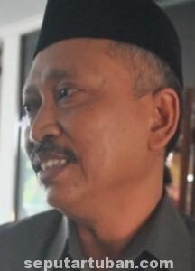 M MIYADI: Ketua DPRD Tuban periodse 2014-2019. (foto: MUHLISHIN)