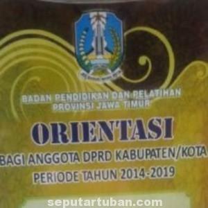 WAJIB: Terhitung mulai tanggal 7-10 September 2014 seluruh anggota DPRD Tuban mengikuti masa prientasi dewan (MOD) yang berlangsung di Surabaya.